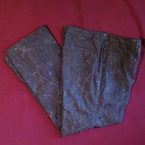 Peter Nygard Charcoal Gray Pants Size 8P